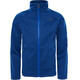 """The North Face Youth Canyonlands Zip Fleece Jacket Bright Cobalt Blue Heather"""